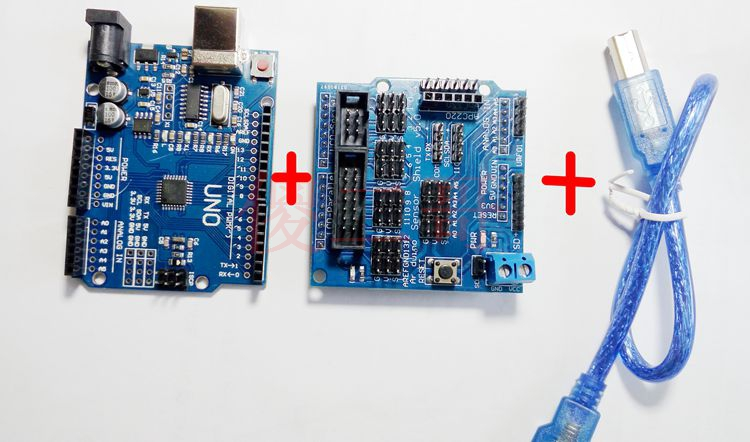 Robot Control Board Servo Controller arduino r3 + Servo Controller Kit board. free delivery wholesale mini usb 16 channel servo controller board for arduino robot project