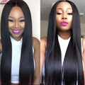 8A Grade Unprocessed Virgin Brazilian Straight Hair 3pcs lot Human Hair Cheap Brazilian Virgin Hair Straight Hair Weave Bundles