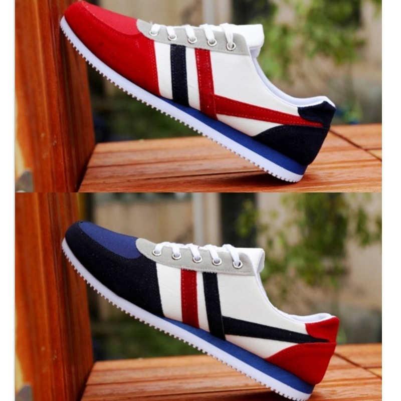 2019 Новая мужская повседневная обувь Lac-up легкая мужская обувь удобные дышащие прогулочные теннисные кроссовки Feminino Zapatos Dec21