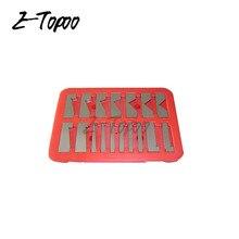 17 шт. прецизионный Угловой блок от 1/4 до 45 градусов набор машинист. 0003 ACC