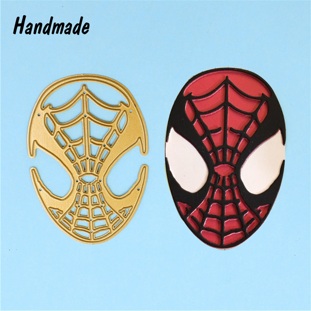 spider man stencils template metal cutting dies for diy scrapbooking
