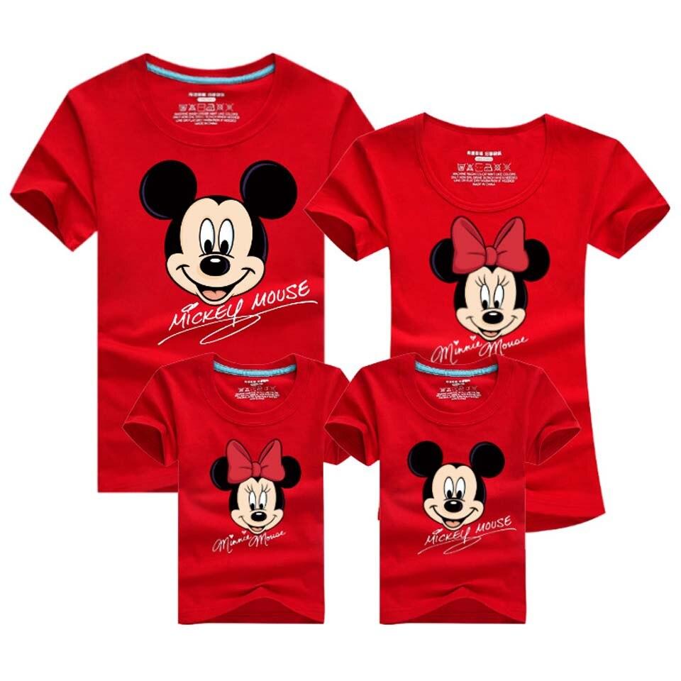 Familie Passende Kleidung Sommer Mutter und Tochter Kleidung Familie Aussehen T-shirt Mutter Sohn Outfits Baumwolle Vater Sohn Kleidung