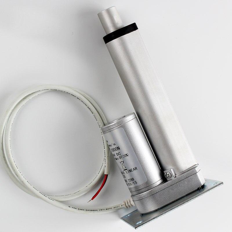 700 мм линейный привод 12 В постоянного тока Окно Двигатель подъема с привести концевой Выключатель Электрический окне actuator Электрический Пр...