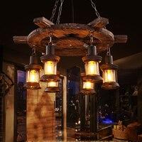 Led e27 로프트 산업 철 나무 유리 led 램프 led 빛. 펜 던 트 조명. 펜 던 트 램프. 펜 던 트 조명 식사 룸 저장소 바