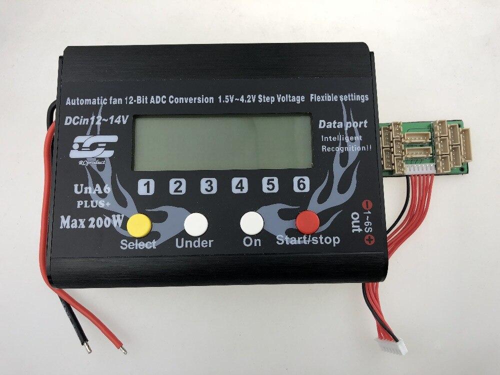 UNRC RC Plane Car UNA6 UNA9 9S LiPo Li polymer Balance Charger RC Battery Charging for