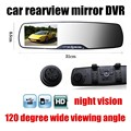 2.7 inch Full HD Car Rearview Mirror DVR Night Vision dash Cam Video Recorder 120 degree wide viewing angle new arrival