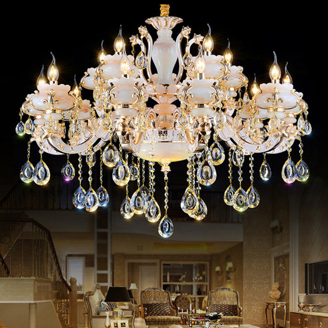 Modern Ceiling Chandeliers Kitchen Led Crystal Chandelier Bathroom Large Lighting Lamp Restaurant