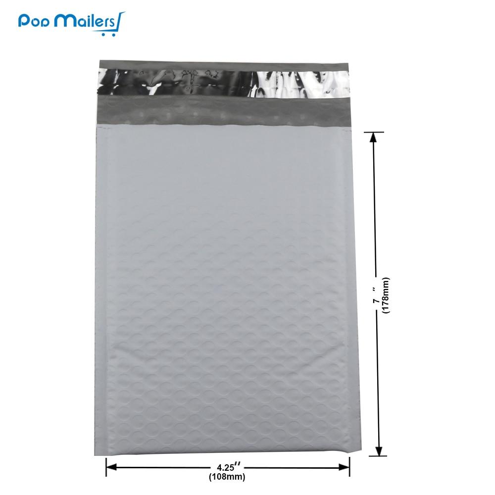 10 Stück / Packung, 120 * 180 mm Weiß Nutzfläche Poly Bubble - Papier - Foto 2