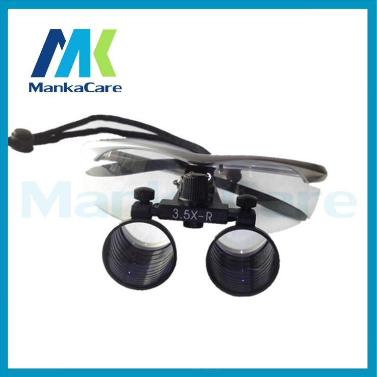 3.5X tiempo lupas binoculares quirúrgicas dentales lupa gafas 100% - Higiene oral - foto 2