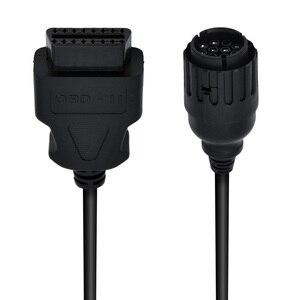 Image 5 - Per BMW ICOM D cavo ICOM D motocicli Motobikes 10 Pin adattatore 10 Pin a 16Pin OBD2 OBDII cavo diagnostico