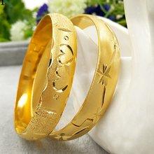 Новейшие золотые браслеты Дубая для женщин 10 мм ширина браслета
