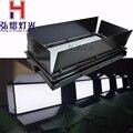 1 teile/los 150 watt weiß video panel licht LED bühnenbeleuchtung für Theater TV Bühne Studio mit scheunentor