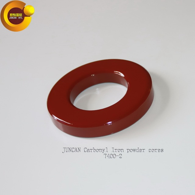 Hot sale T400-2 High-frequency low-loss carbonyl iron powder core magnetic core
