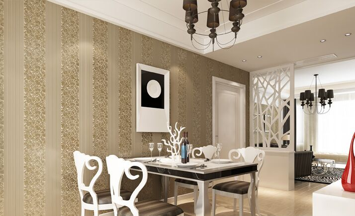 modern vertical striped wallpapers design non woven wall paper for walls living room 3d wallpaper - Wallpapers Designs For Walls