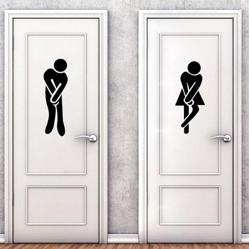 Прикольные картинки на дверь в туалет под