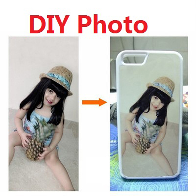 Custom Made DIY Personalised Photo Case for iPhone 4 4S 5 5S 5C SE 6 6S 7 Plus Samsung S3 S4 S5 Mini S6 S7 S8 Edge Plus A3 A5 A7