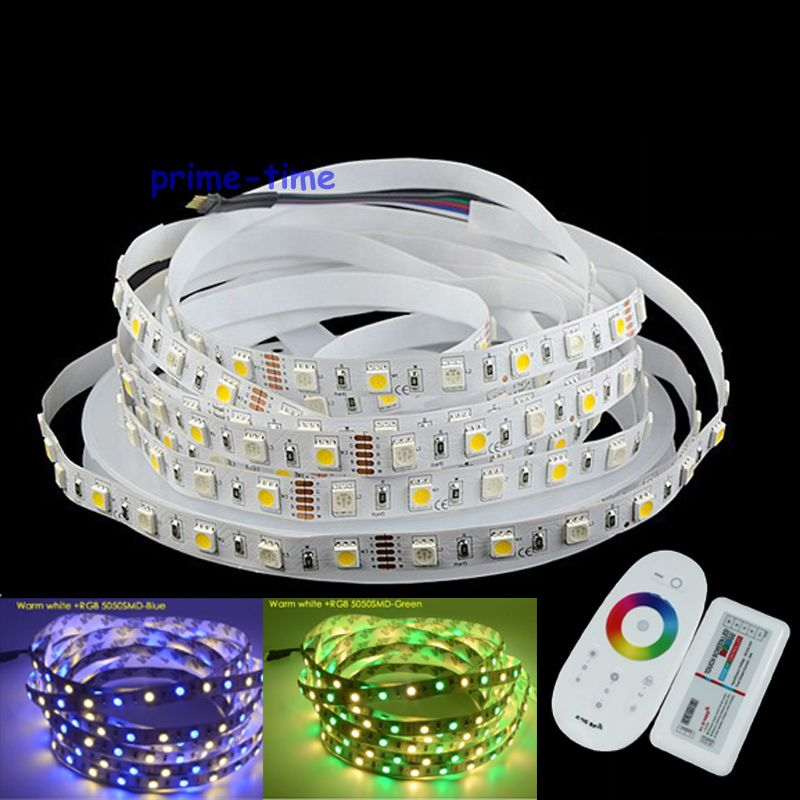Led Strips 2.4g Rgbw Remote Controller Set Easy And Simple To Handle Lights & Lighting 5m 5050 Rgbw Rgbww Rgb+warm White Or Cool White 60led/m Dc12v Non-waterproof Led Strip Light