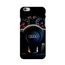 Wholesale and Retail Car Audi Work Station Logo Plastic Hard Back Cover Case for iphone 4