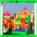 2017 New Style Giant Inflatable Games Bouncy Castle  Inflatable Castle Amusement Park Trampoline For Kids