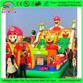 2017 Nuevo Estilo de Juegos Inflables Gigantes Castillo Hinchable Castillo Inflable Trampolín Parque de Diversiones Para Los Niños