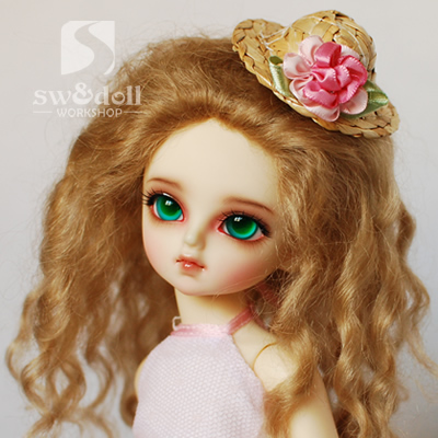 1/6 1/8 scale BJD wig curls hair for BJD/SD DIY doll accessories.Not included doll,clothes,shoes,and other accessories 16C1058 hercules gs301b travelite acoustic guitar portable travel mini steel stand