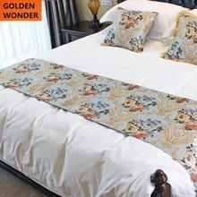цены Classic European Style Bed Flag Romantic Home Decoration Bed Runner Table Runner Good Quality