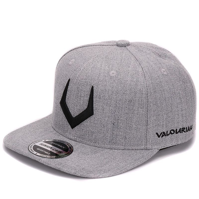 High quality grey wool snapback 3D pierced embroidery hip hop cap flat bill  baseball cap for men and women-in Baseball Caps from Apparel Accessories on  ... 61bddd72e35