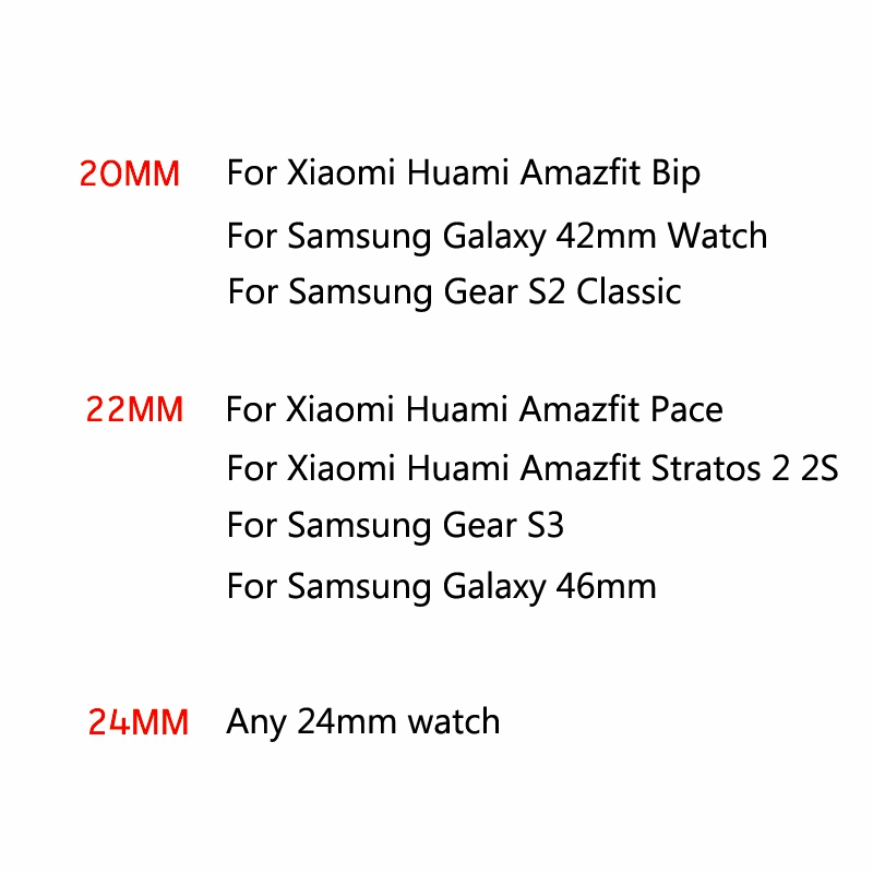 Hangrui Nylon Canvas Strap for Xiaomi Huami Amazfit Bip Stratos 2 2s Pace Watch band For Samsung Gear S3 S2 Bracelet Wristband in Smart Accessories from Consumer Electronics