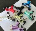 Оптовые 50 Sets Стрекоза Ротари Машина Татуировки Shader & Liner Смешанный Цвет Татуировки Двигателя Gun Комплекты Питания Для Художников