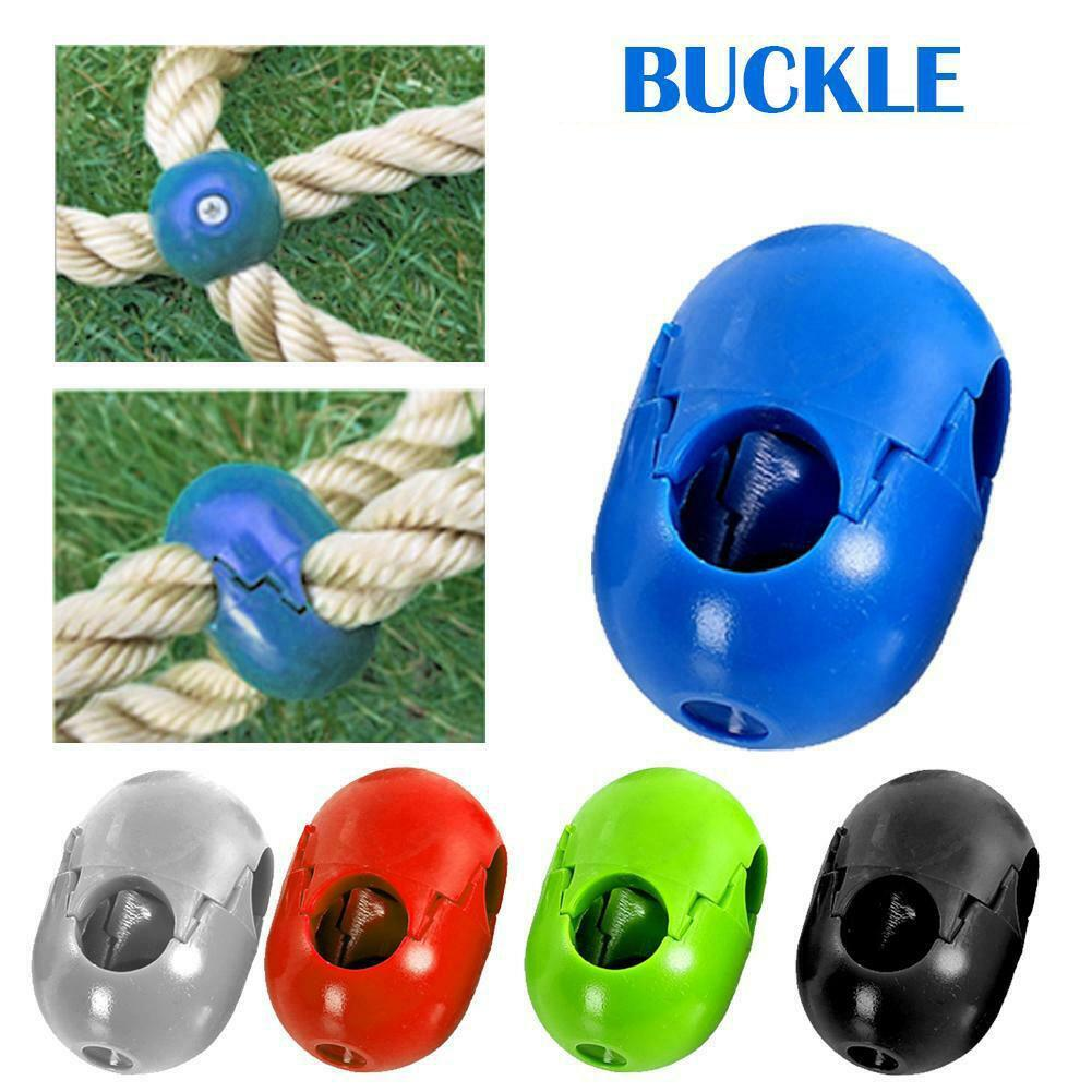 5Pcs Kids Climbing Rope Net Plastic Buckle Connector Outdoor Swing Accessories Climbing Rope Parts