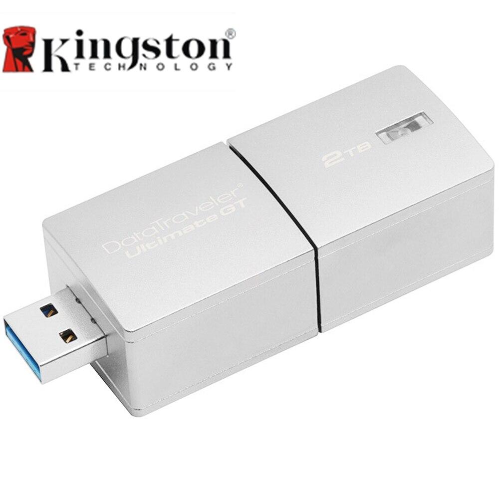 Kingston DT Ultimate GT High Speed USB 3.1 Flash Drive Pen Drive External Storage Memory Stick 1TB 2TB Metal USB Flash Drive