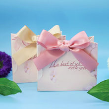 AVEBIEN 20pc European style Romantic High grade Wedding Favor Box and Bags Sweet Gift Candy Boxes for Guest Chocolate Paper Gift(China)