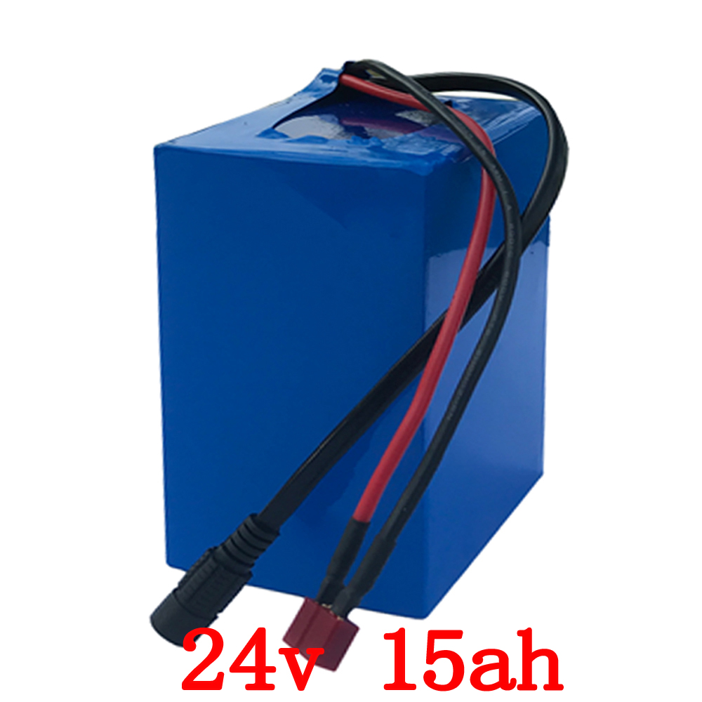 24V battery 24V 15AH electric bicycle battery 24v 15ah Lithium battery with 15A BMS +29.4V 2A charger for 250W 350W motor 24V battery 24V 15AH electric bicycle battery 24v 15ah Lithium battery with 15A BMS +29.4V 2A charger for 250W 350W motor
