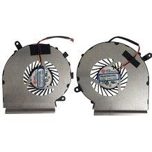 Ein Paar Neue Original CPU GPU Lüfter Für MSI GE62 GE72 PE60 PE70 GL62 PAAD06015SL N302 Laptop Kühler Heizkörper Lüfter