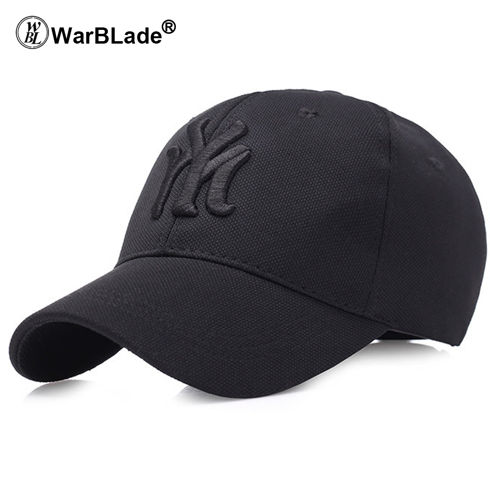 US $4 49 40% OFF|solid unisex black baseball cap men snapback hat women cap  flexfit fitted hat Closed Male full cap Gorras Bones trucker hat-in