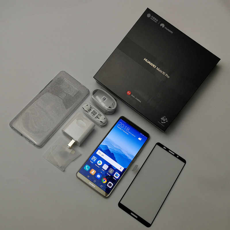 Global Firmware Huawei Mate 10 Pro Smartphone Android 8 0 Dual Rear  20MP+12MP 4000mAh 6 0