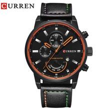 CURREN reloj para hombre marca de reloj de cuarzo Ronda hombres Esfera de un Reloj Analógico con Exhibición de La Fecha 8217