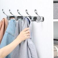 Stainless steel living room door back clothes line hook bathroom towel hook free punch coat hook wall hanging wx8030915