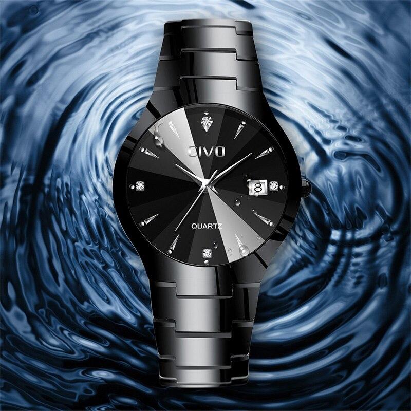 Image 3 - CIVO Relogio Masculino, reloj de marca de lujo para hombres, reloj de pulsera analógico impermeable, reloj de cuarzo para hombres, reloj de negocios informal para hombres y mujeresRelojes de cuarzo   -