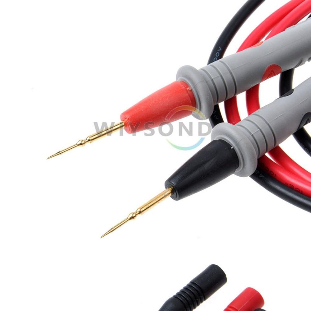 Digital Multimeter 20a 1000v : M v a needle point multi meter test probe