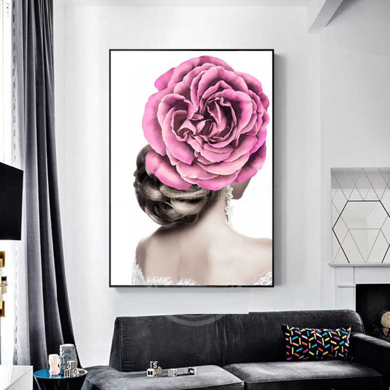 Large Minimalist Modern Ideas Beauty Paintings Posters And Prints