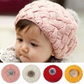 2016 New Fashion Baby Hat Newborn Photography Props Autumn Winter Baby Caps Fashion Crochet Caps for 4 months-3 years Children