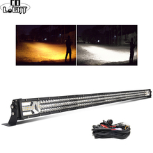 CO LIGHT 52 Offroad LED Bar 12D 783W Light 3-Rows Strobe Foglight Combo Beam for 4x4 ATV Trucks SUV 12V 24V Work