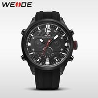 WEIDE LCD Men Watch Sport Digital Luxury Brand Quartz Watches Water Resistant Relojes Hombre 2017 Fashion