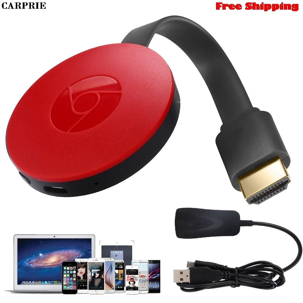 CARPRIE Miracast 1080 p WiFi Affichage TV Dongle Récepteur Sans Fil HDMI AirPlay DLNA Partager Maximum Vidéo Résolution Livraison Gratuite