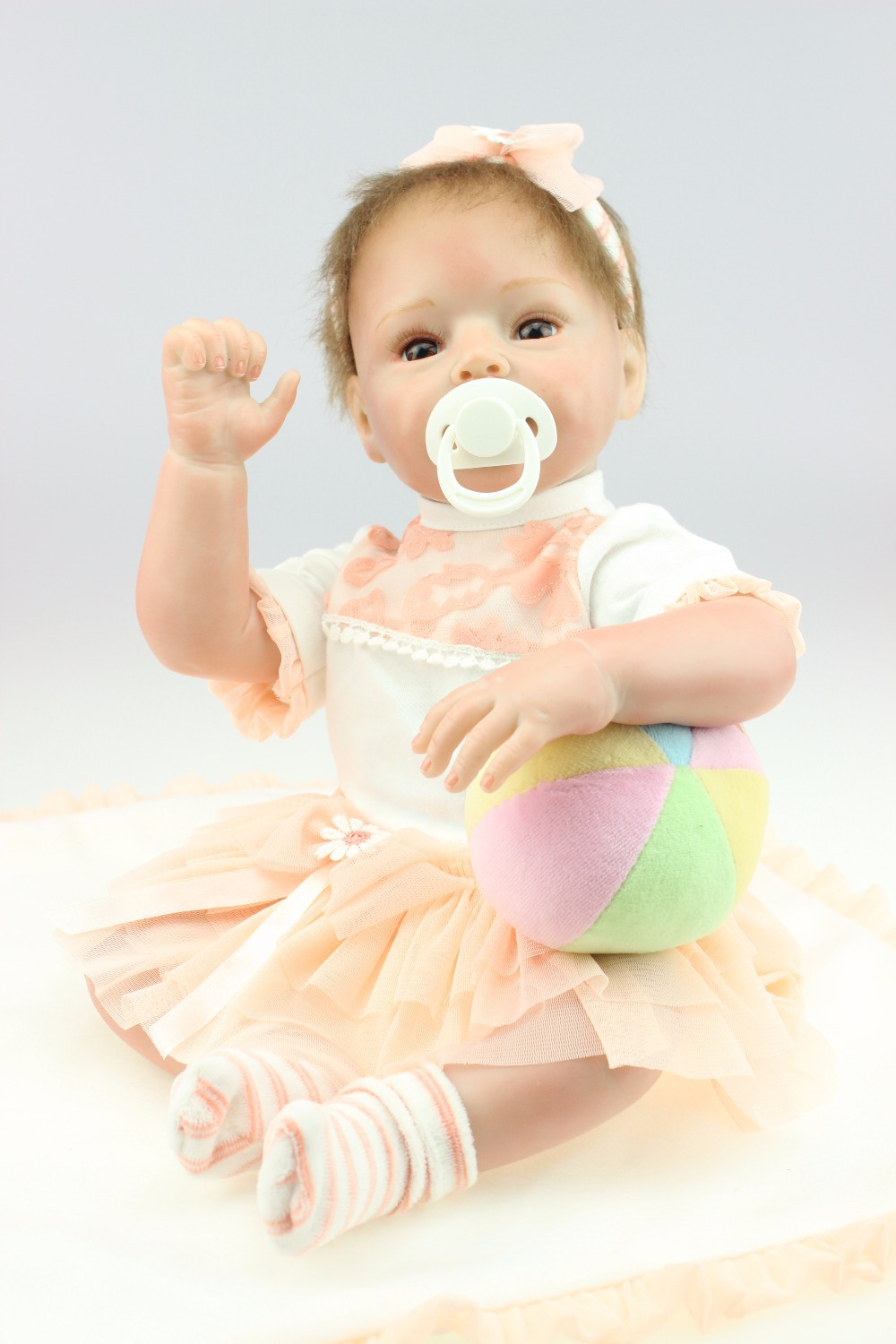 NEW hot sale lifelike neborn baby doll wholesale fashion doll real soft gentle touch stuffed dolls soft mohair hairNEW hot sale lifelike neborn baby doll wholesale fashion doll real soft gentle touch stuffed dolls soft mohair hair
