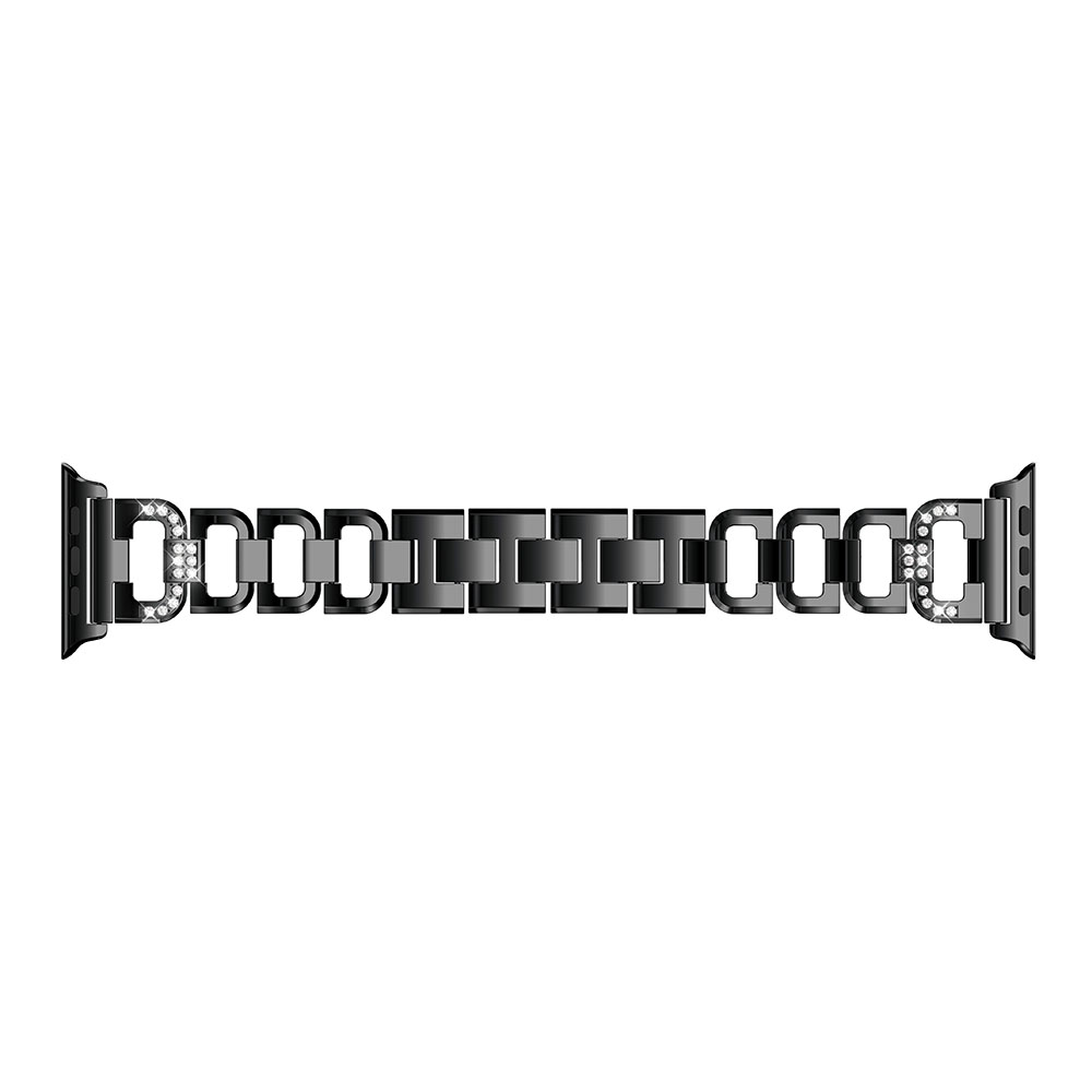 Bling Bands For Apple Watch Band Stainless Steel Adapter for Watch Series Edition 42MM 38MM Watchband Wristband Sport Strap 2018 in Smart Accessories from Consumer Electronics