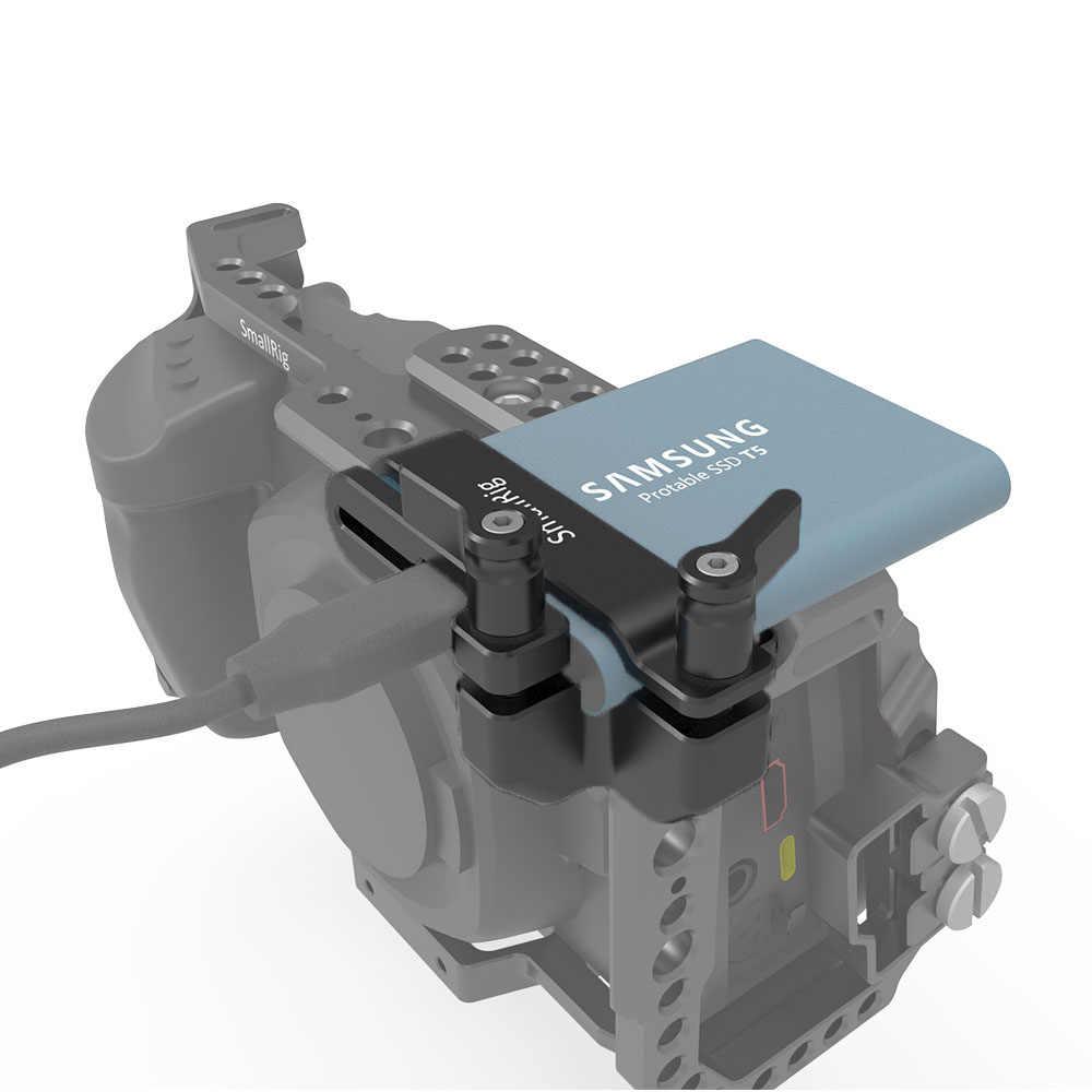 SmallRig крепление для samsung T5 SSD камера Rig DSLR для BMPCC 4 K 2245