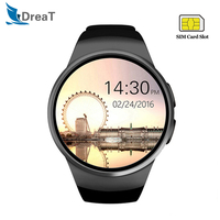 KW18 Smart Watch Men Heart Rate Pedometer Sport Waterproof Smartwatch Support SIM TF Card Bluetooth Call Wristwatch For Android