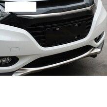 Lsrtw2017 Stainless Steel Car Front Bumper Rear Guard Board Strip for Honda Vezel 2015 2016 2017 2018 2019 2020